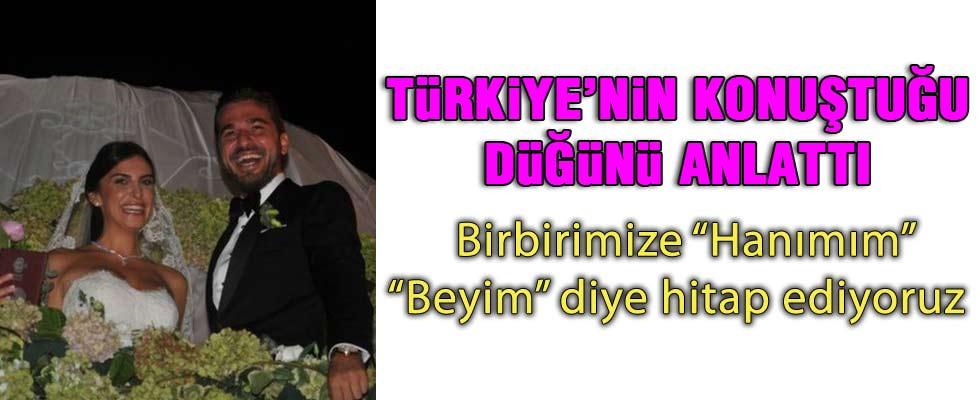 Neslişah Alkoçlar Türkiye'nin konuştuğu düğünü anlattı