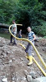 Çamaş'ta İçme Suyundaki Bulanıklık Giderildi