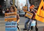 ULAŞIMA ZAM - Ulaşım Zammına Alışveriş Arabalı Protesto