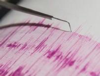 Manisa depremle sarsıldı