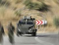 Askeri minibüs devrildi: 25 asker yaralandı