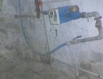 İşte Aylin Nazlıaka'nın evinin paslı su boruları