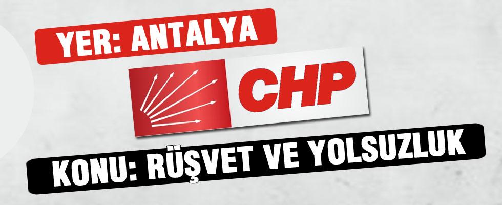 CHP'li Kurt'tan yolsuzluk ve rüşvet itirafları!