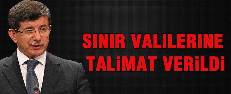 Davutoğlu: Sınır valilerimize talimat verdik