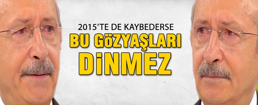 Kılıçdaroğlu canlı yayında gözyaşlarına boğuldu