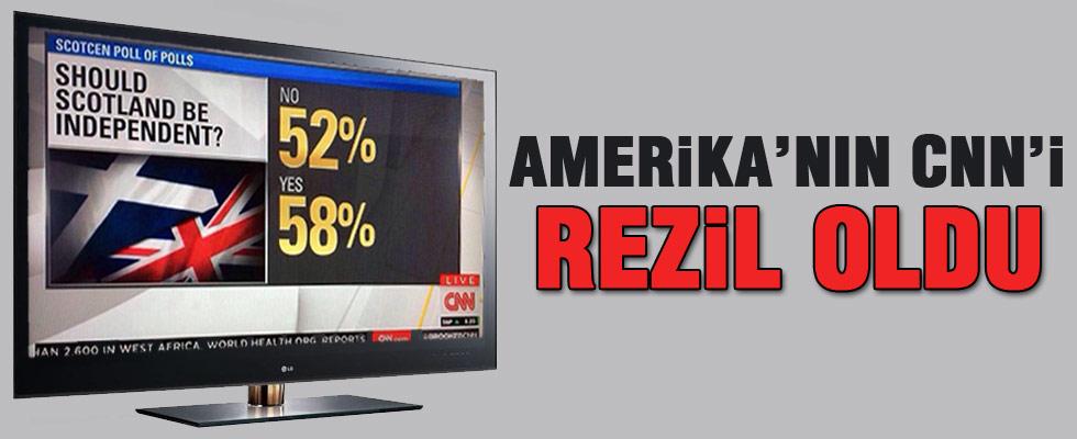 Amerika'nın CNN'i rezil oldu