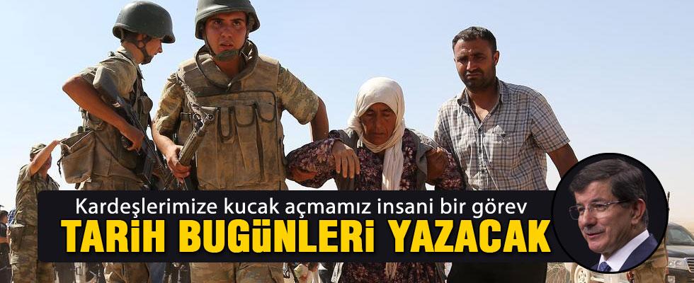 Davutoğlu'ndan Suriyeli Kürtlerle ilgili ilk açıklama
