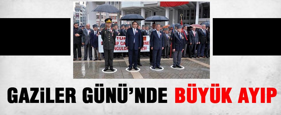 Gaziler Günü'nde skandal