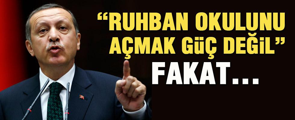 Erdoğan Ruhban Okulu için ne dedi