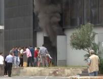 CNR Fuar Merkezi'nde yangın