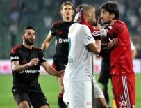 Bursa'da maç bitti olay çıktı