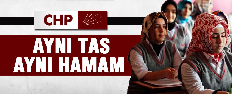CHP'den başörtüsü özgürlüğüne tepki