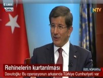 Davutoğlu operasyonu anlattı