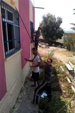 İmamoğlu'nda Köy Okullarını Boyama Projesi