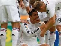 Real Madrid bu kez de beş attı