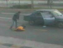 Kıskançlık cinayeti güvenlik kamerasında