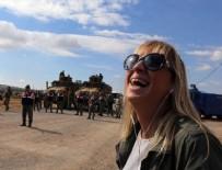 CEYDA KARAN - Sınır hattında bir garip selfie