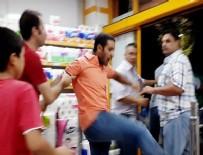 ÖZEL GÜVENLİK - Şanlıurfa'da Market Arabası Kavgası
