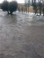 Derbent'te Sel Baskını