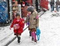 OKUL TATİL - Eğitime kar engeli!