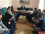 Sultandağı'nda Teog'da Derece Yapan Öğrencilerden Turan'a Ziyaret