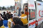 KENAN ÇIFTÇI - Başına Demir Düşen İşçi Ağır Yaralandı