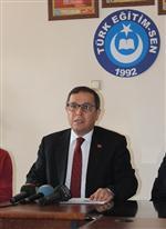 4+4+4 SİSTEMİ - Türk Eğitim-sen 1 No'lu Şube Başkanı Ali Benli Açıklaması