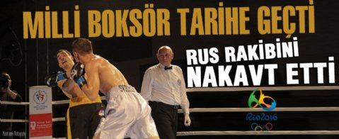 Milli boksör Adem Kılıçcı Rio vizesi aldı