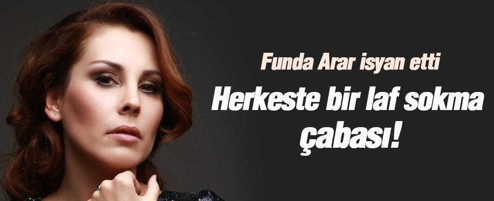Funda Arar'ın twitter isyanı