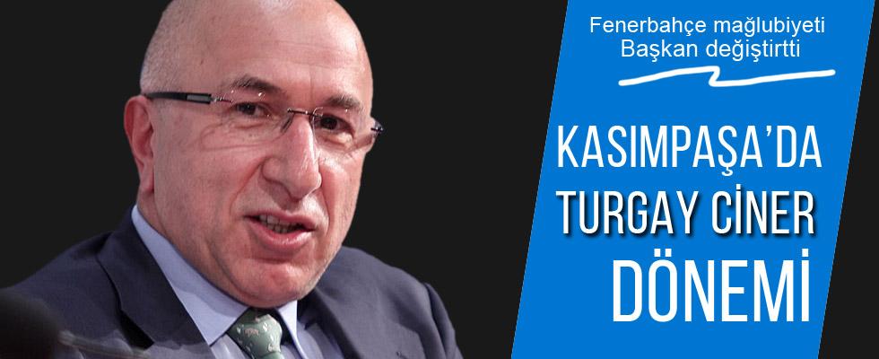 Kasımpaşaspor'da Başkan görevi bıraktı