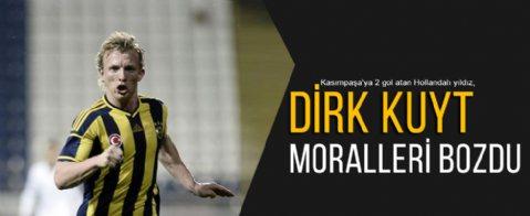 Dirk Kuyt moralleri bozdu