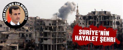 Arbin beldesine Esad bombardımanı
