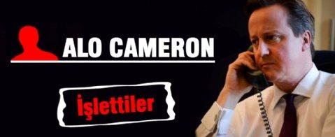 Cameron'u fena işlettiler