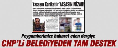 CHP'Li Kadıköy Belediyesi'nden büyük küstahlık