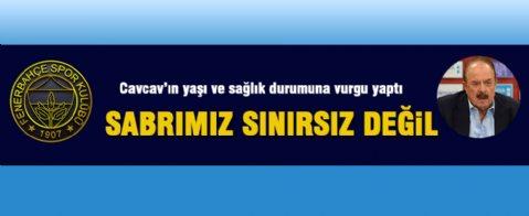 Fenerbahçe'den Cavcav'a Cevap
