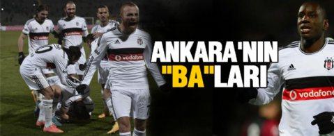 Gençlerbirliği 0 - 2 Beşiktaş