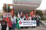 HASTANE BAHÇESİ - Bornova Türkan Özilhan Devlet Hastanesi Boşaltılıyor