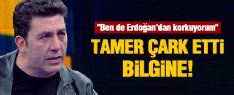 Emre Kınay, Erdoğan'dan korkuyormuş!