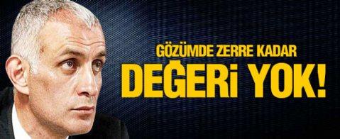 Hacıosmanoğlu, Ahmet Nur Çebi'ye yanıt verdi