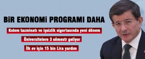 Davutoğlu'ndan bir yeni program daha