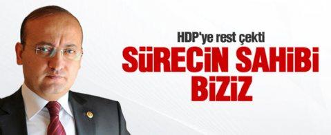 Yalçın Akdoğan, HDP'ye rest çekti
