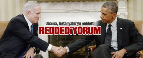Obama Netanyahu ile görüşmeyeceğini tekrarladı