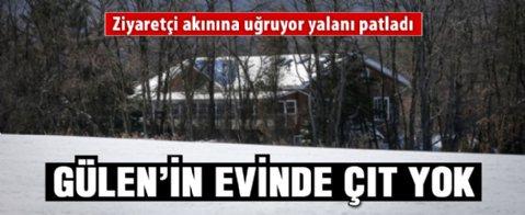 AA'nın gözünden Fethullah Gülen'in malikanesi