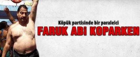Faruk Arslan'ın köpük partisi fotoğrafları