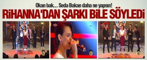 Seda Bakan şarkı söyledi... Twitter yıkıldı