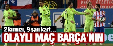 Unutulmaz maç Barcelona'nın....