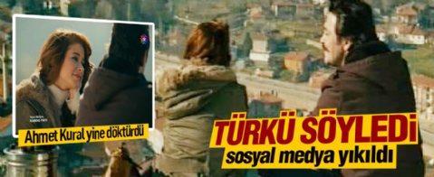Ahmet Kural türkü söyledi, Twitter yıkıldı
