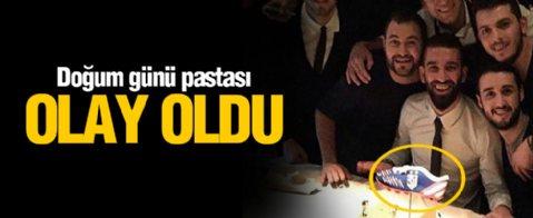 Arda Turan'a Anlamlı Doğum Günü Kutlaması