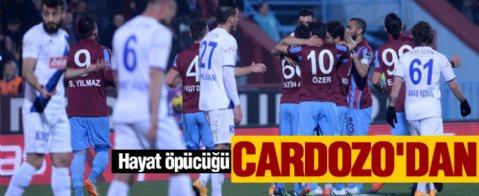 Trabzon evinde zor kazandı