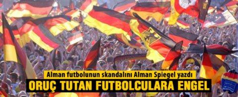 Alman futbolunda 'Oruç' tartışması